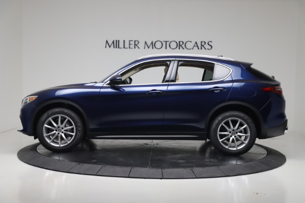 New 2019 Alfa Romeo Stelvio Ti Lusso Q4 for sale Sold at Aston Martin of Greenwich in Greenwich CT 06830 3