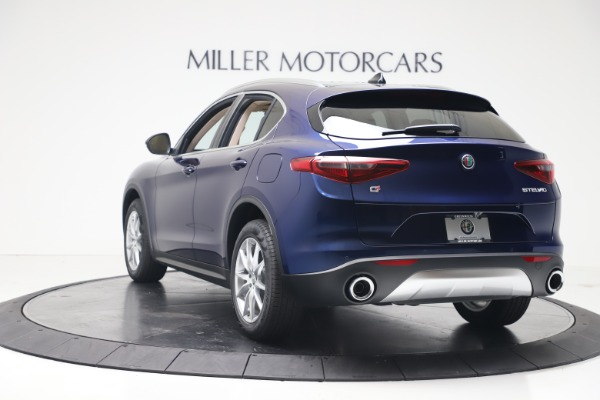 New 2019 Alfa Romeo Stelvio Ti Lusso Q4 for sale Sold at Aston Martin of Greenwich in Greenwich CT 06830 5