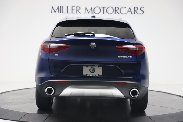 New 2019 Alfa Romeo Stelvio Ti Lusso Q4 for sale Sold at Aston Martin of Greenwich in Greenwich CT 06830 6