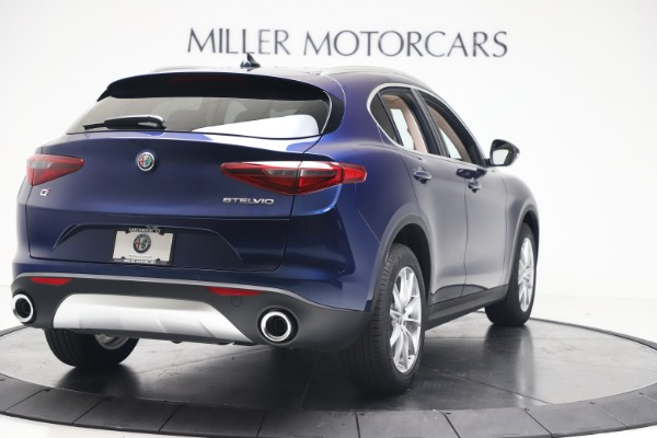 New 2019 Alfa Romeo Stelvio Ti Lusso Q4 for sale Sold at Aston Martin of Greenwich in Greenwich CT 06830 7