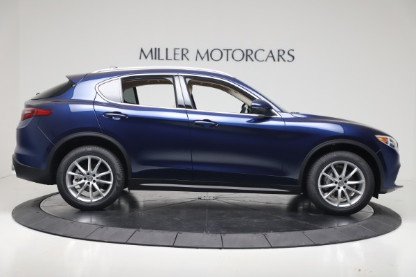 New 2019 Alfa Romeo Stelvio Ti Lusso Q4 for sale Sold at Aston Martin of Greenwich in Greenwich CT 06830 9
