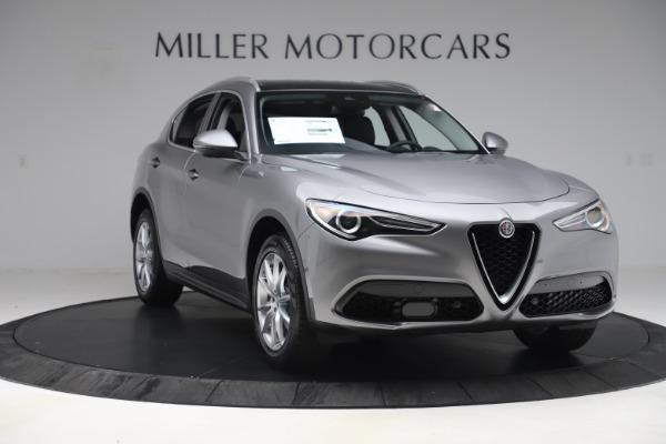 New 2019 Alfa Romeo Stelvio Ti Lusso Q4 for sale Sold at Aston Martin of Greenwich in Greenwich CT 06830 11