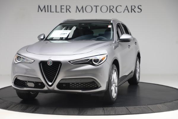 New 2019 Alfa Romeo Stelvio Ti Lusso Q4 for sale Sold at Aston Martin of Greenwich in Greenwich CT 06830 1