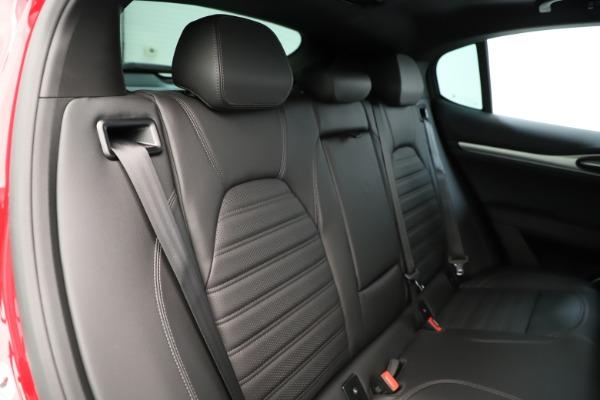 New 2019 Alfa Romeo Stelvio Ti Sport Q4 for sale Sold at Aston Martin of Greenwich in Greenwich CT 06830 26