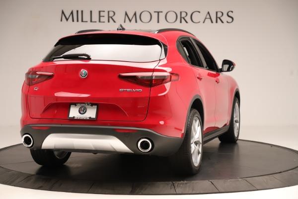 New 2019 Alfa Romeo Stelvio Ti Sport Q4 for sale Sold at Aston Martin of Greenwich in Greenwich CT 06830 7