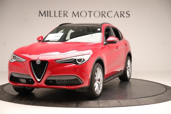 New 2019 Alfa Romeo Stelvio Ti Sport Q4 for sale Sold at Aston Martin of Greenwich in Greenwich CT 06830 1