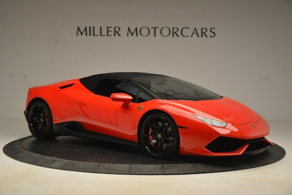 Used 2017 Lamborghini Huracan LP 610-4 Spyder for sale Sold at Aston Martin of Greenwich in Greenwich CT 06830 16