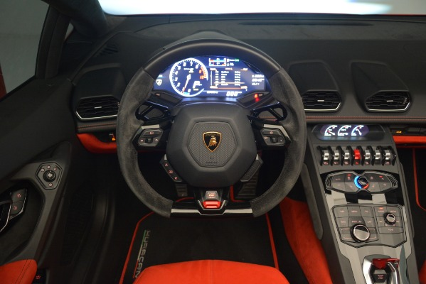 Used 2017 Lamborghini Huracan LP 610-4 Spyder for sale Sold at Aston Martin of Greenwich in Greenwich CT 06830 20