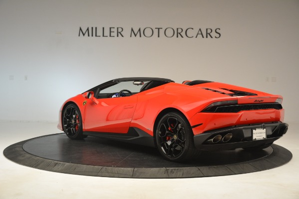 Used 2017 Lamborghini Huracan LP 610-4 Spyder for sale Sold at Aston Martin of Greenwich in Greenwich CT 06830 3