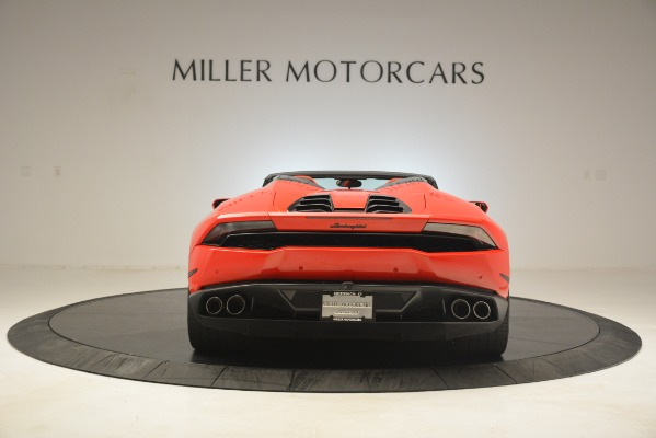Used 2017 Lamborghini Huracan LP 610-4 Spyder for sale Sold at Aston Martin of Greenwich in Greenwich CT 06830 4