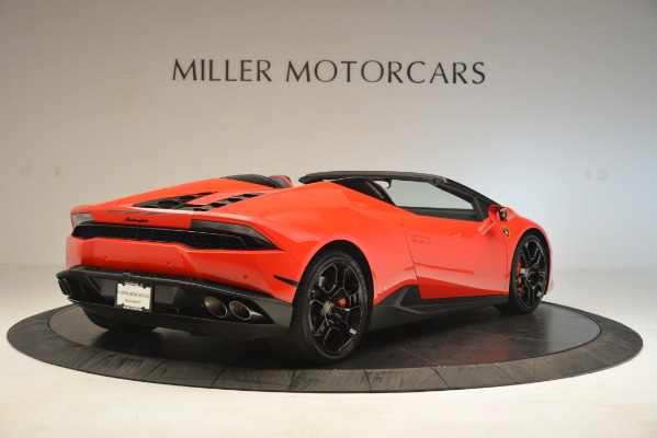 Used 2017 Lamborghini Huracan LP 610-4 Spyder for sale Sold at Aston Martin of Greenwich in Greenwich CT 06830 5
