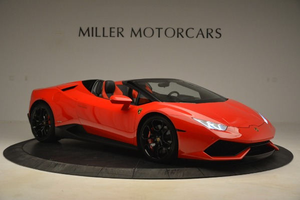 Used 2017 Lamborghini Huracan LP 610-4 Spyder for sale Sold at Aston Martin of Greenwich in Greenwich CT 06830 7