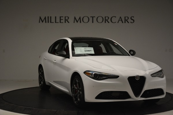 New 2019 Alfa Romeo Giulia Q4 for sale Sold at Aston Martin of Greenwich in Greenwich CT 06830 11