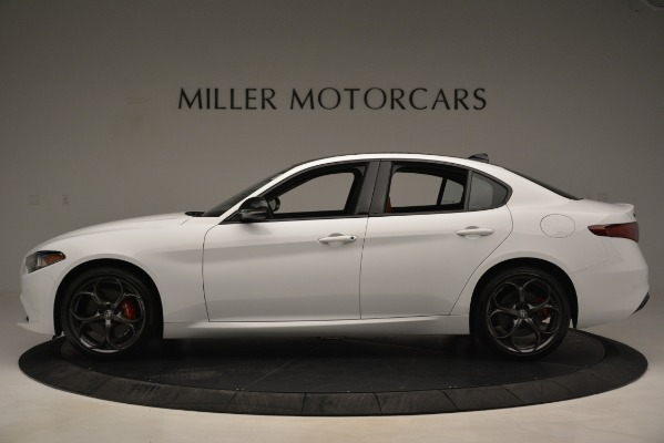 New 2019 Alfa Romeo Giulia Q4 for sale Sold at Aston Martin of Greenwich in Greenwich CT 06830 3