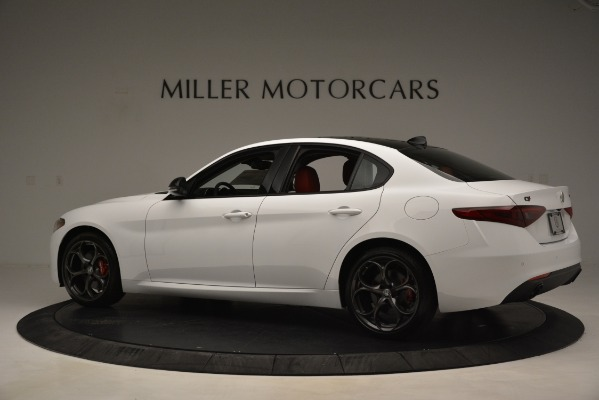 New 2019 Alfa Romeo Giulia Q4 for sale Sold at Aston Martin of Greenwich in Greenwich CT 06830 4