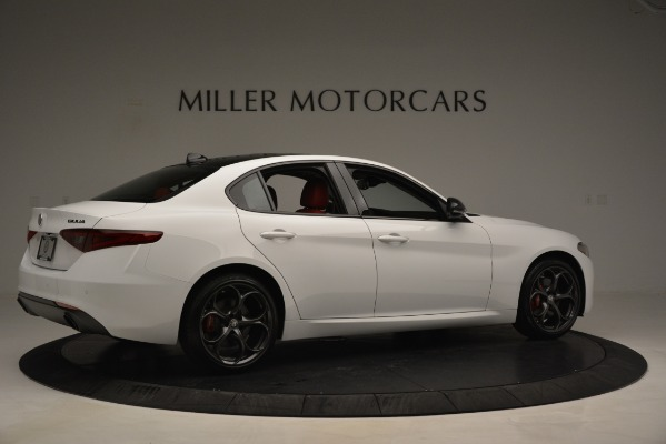 New 2019 Alfa Romeo Giulia Q4 for sale Sold at Aston Martin of Greenwich in Greenwich CT 06830 8