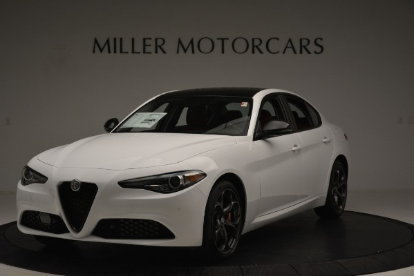 New 2019 Alfa Romeo Giulia Q4 for sale Sold at Aston Martin of Greenwich in Greenwich CT 06830 1
