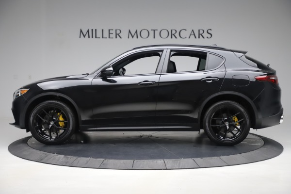 New 2019 Alfa Romeo Stelvio Ti Sport Q4 for sale Sold at Aston Martin of Greenwich in Greenwich CT 06830 3