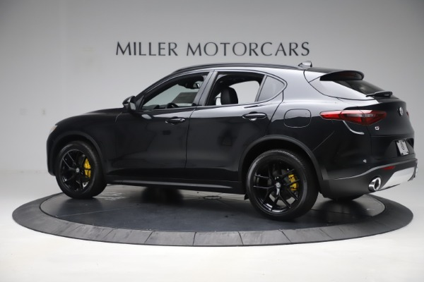 New 2019 Alfa Romeo Stelvio Ti Sport Q4 for sale Sold at Aston Martin of Greenwich in Greenwich CT 06830 4