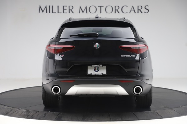 New 2019 Alfa Romeo Stelvio Ti Sport Q4 for sale Sold at Aston Martin of Greenwich in Greenwich CT 06830 6