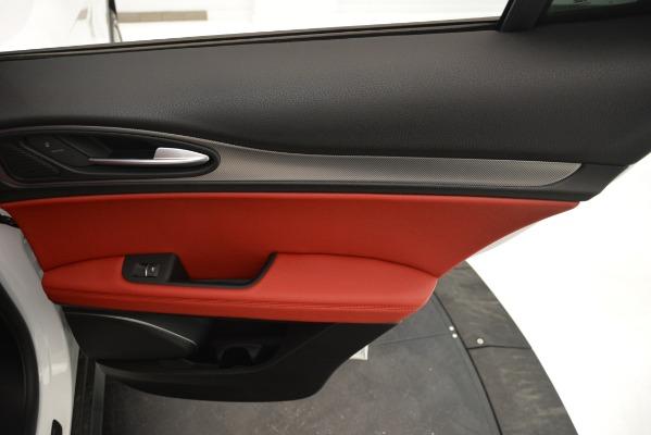 New 2019 Alfa Romeo Stelvio Ti Sport Q4 for sale Sold at Aston Martin of Greenwich in Greenwich CT 06830 28