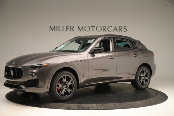 New 2019 Maserati Levante Q4 Nerissimo for sale Sold at Aston Martin of Greenwich in Greenwich CT 06830 2