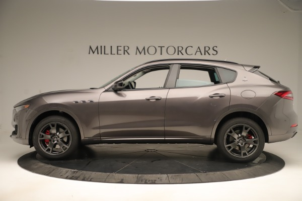New 2019 Maserati Levante Q4 Nerissimo for sale Sold at Aston Martin of Greenwich in Greenwich CT 06830 3