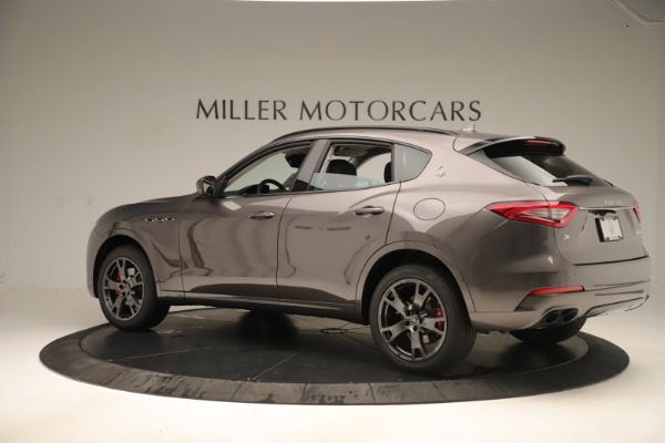 New 2019 Maserati Levante Q4 Nerissimo for sale Sold at Aston Martin of Greenwich in Greenwich CT 06830 4