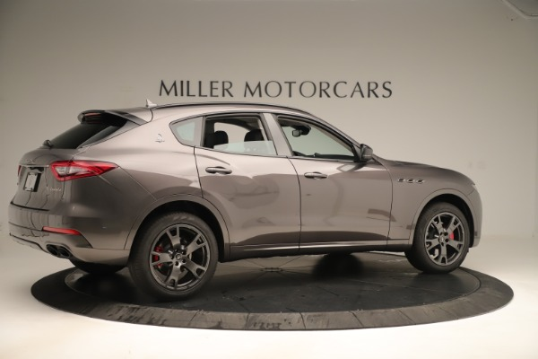 New 2019 Maserati Levante Q4 Nerissimo for sale Sold at Aston Martin of Greenwich in Greenwich CT 06830 8
