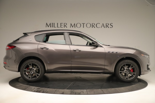 New 2019 Maserati Levante Q4 Nerissimo for sale Sold at Aston Martin of Greenwich in Greenwich CT 06830 9