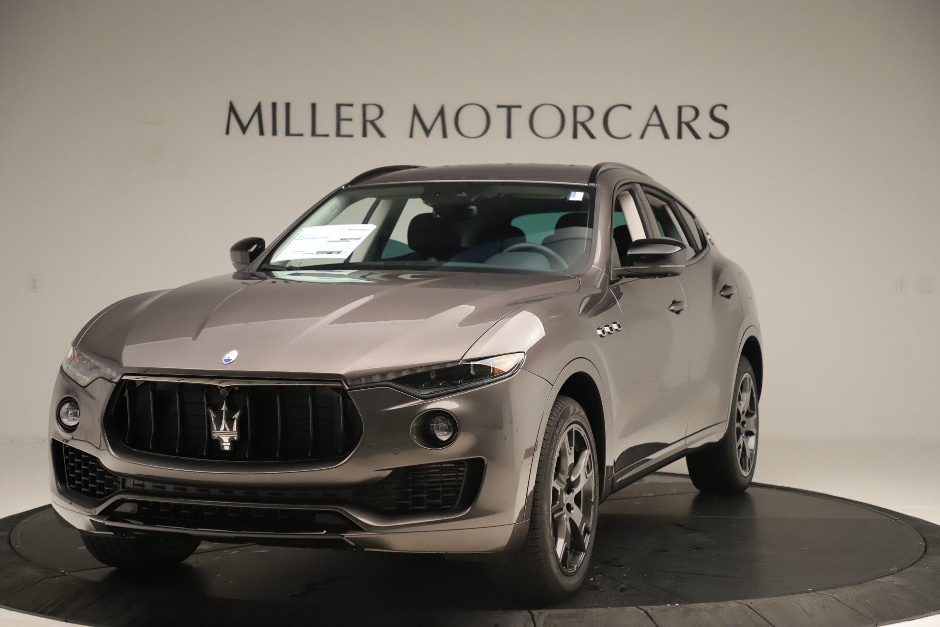 New 2019 Maserati Levante Q4 Nerissimo for sale Sold at Aston Martin of Greenwich in Greenwich CT 06830 1