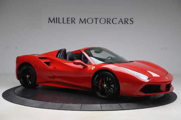 Used 2017 Ferrari 488 Spider for sale $275,900 at Aston Martin of Greenwich in Greenwich CT 06830 10