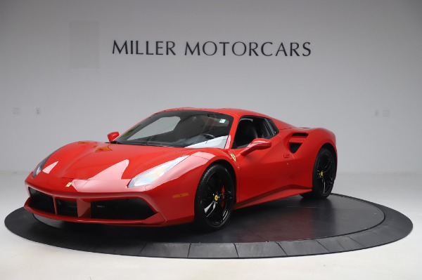 Used 2017 Ferrari 488 Spider for sale $275,900 at Aston Martin of Greenwich in Greenwich CT 06830 13