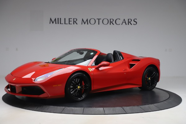 Used 2017 Ferrari 488 Spider for sale Sold at Aston Martin of Greenwich in Greenwich CT 06830 2