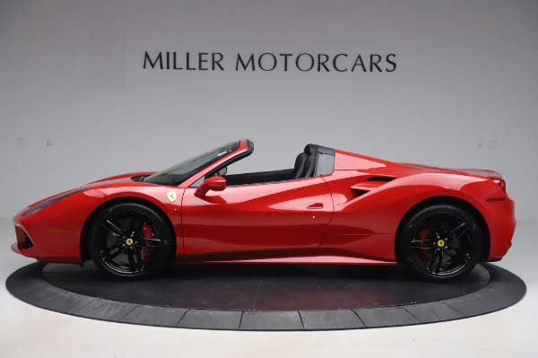 Used 2017 Ferrari 488 Spider for sale $275,900 at Aston Martin of Greenwich in Greenwich CT 06830 3
