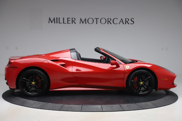 Used 2017 Ferrari 488 Spider for sale $275,900 at Aston Martin of Greenwich in Greenwich CT 06830 9