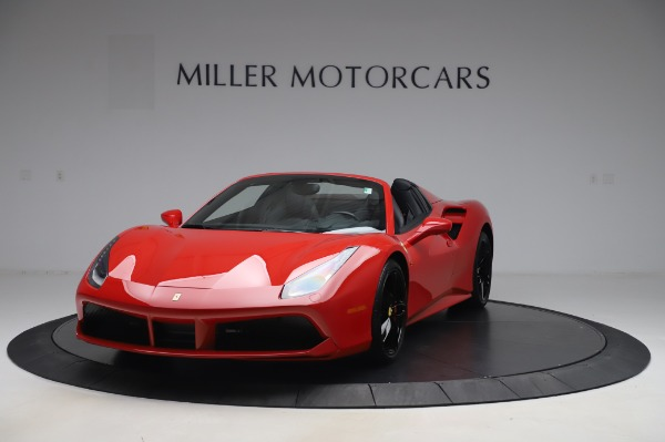 Used 2017 Ferrari 488 Spider for sale $275,900 at Aston Martin of Greenwich in Greenwich CT 06830 1