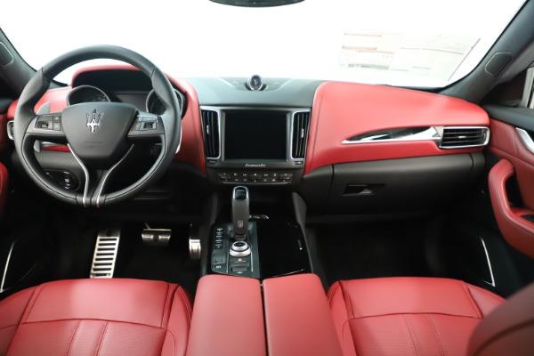 New 2019 Maserati Levante Q4 GranSport Nerissimo for sale Sold at Aston Martin of Greenwich in Greenwich CT 06830 16