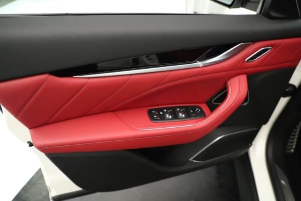 New 2019 Maserati Levante Q4 GranSport Nerissimo for sale Sold at Aston Martin of Greenwich in Greenwich CT 06830 17