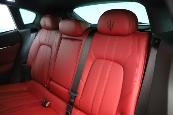 New 2019 Maserati Levante Q4 GranSport Nerissimo for sale Sold at Aston Martin of Greenwich in Greenwich CT 06830 18