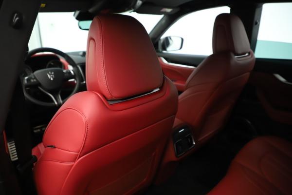 New 2019 Maserati Levante Q4 GranSport Nerissimo for sale Sold at Aston Martin of Greenwich in Greenwich CT 06830 20