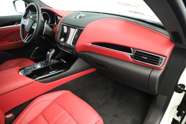 New 2019 Maserati Levante Q4 GranSport Nerissimo for sale Sold at Aston Martin of Greenwich in Greenwich CT 06830 22