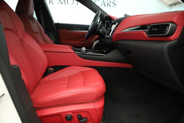 New 2019 Maserati Levante Q4 GranSport Nerissimo for sale Sold at Aston Martin of Greenwich in Greenwich CT 06830 23