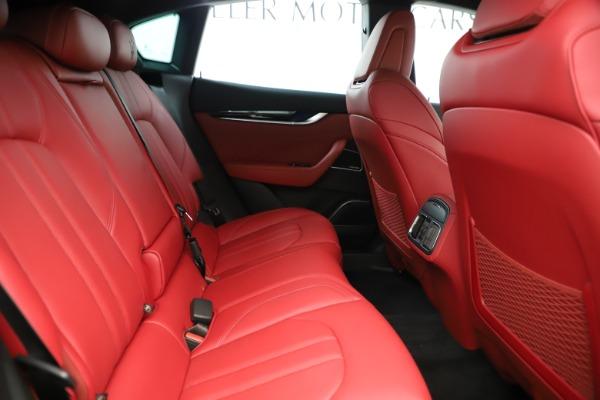 New 2019 Maserati Levante Q4 GranSport Nerissimo for sale Sold at Aston Martin of Greenwich in Greenwich CT 06830 27