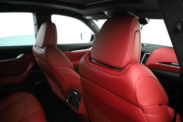 New 2019 Maserati Levante Q4 GranSport Nerissimo for sale Sold at Aston Martin of Greenwich in Greenwich CT 06830 28