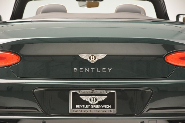 New 2020 Bentley Continental GTC V8 for sale Sold at Aston Martin of Greenwich in Greenwich CT 06830 26