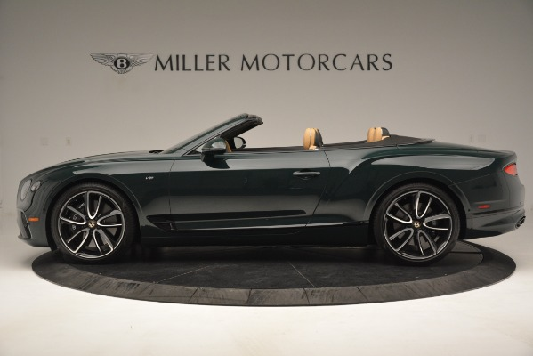 New 2020 Bentley Continental GTC V8 for sale Sold at Aston Martin of Greenwich in Greenwich CT 06830 3