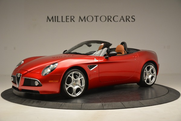 Used 2009 Alfa Romeo 8c Spider for sale Sold at Aston Martin of Greenwich in Greenwich CT 06830 2