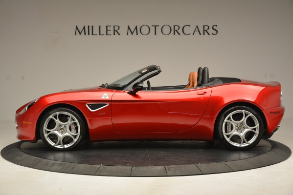Used 2009 Alfa Romeo 8c Spider for sale Sold at Aston Martin of Greenwich in Greenwich CT 06830 3