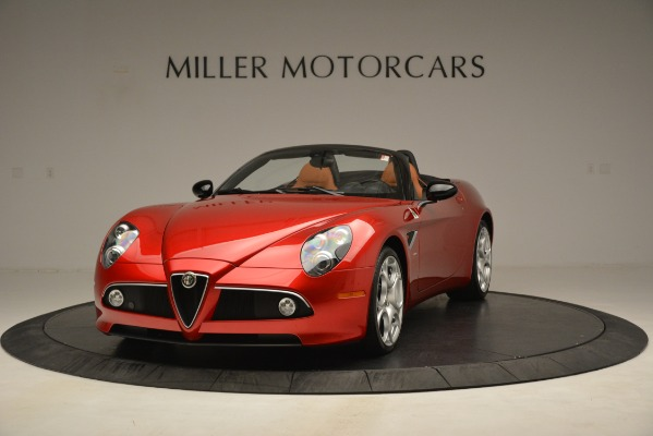Used 2009 Alfa Romeo 8c Spider for sale Sold at Aston Martin of Greenwich in Greenwich CT 06830 1